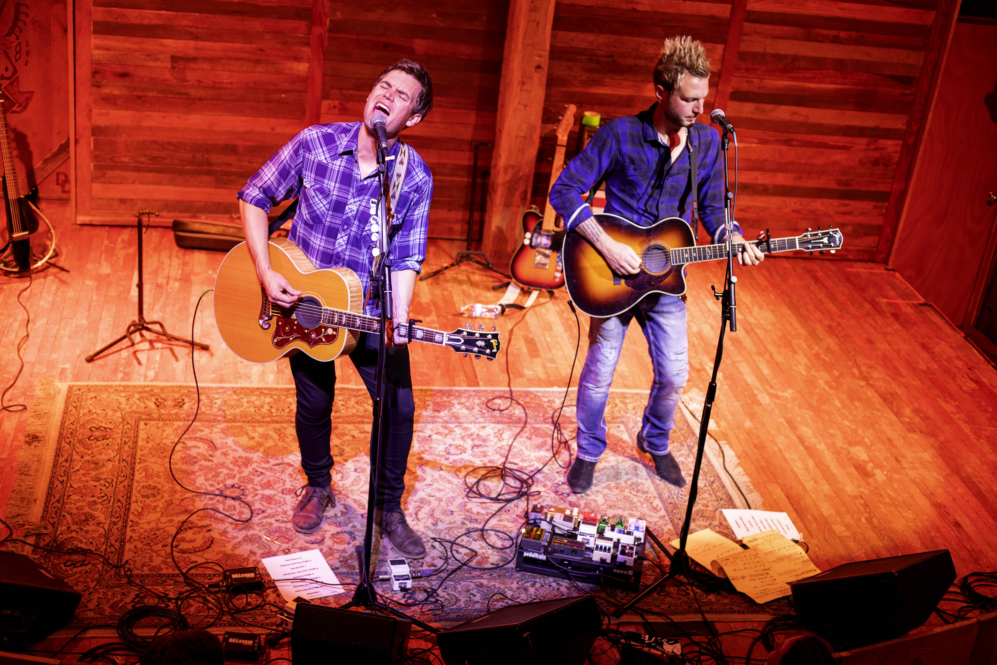 Tyler Hilton and Mike Gossin